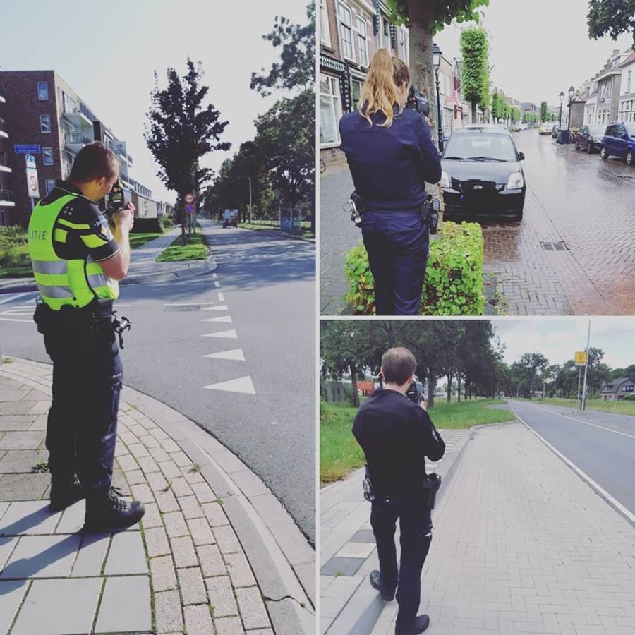 De Culemborgse politie controleert de door het publiek aangewezen locaties in Culemborg