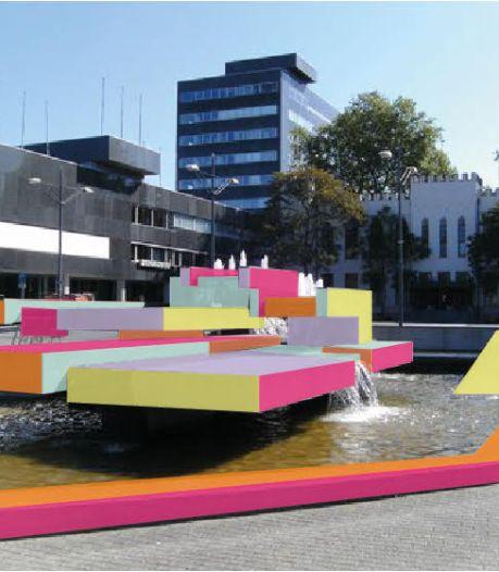 'Droombeeld': fontein van Beljon in kleur
