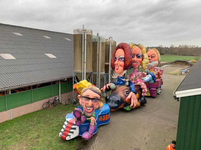 C.g. De Vruutdruuvels uit Loil met hun ode aan ABBA.