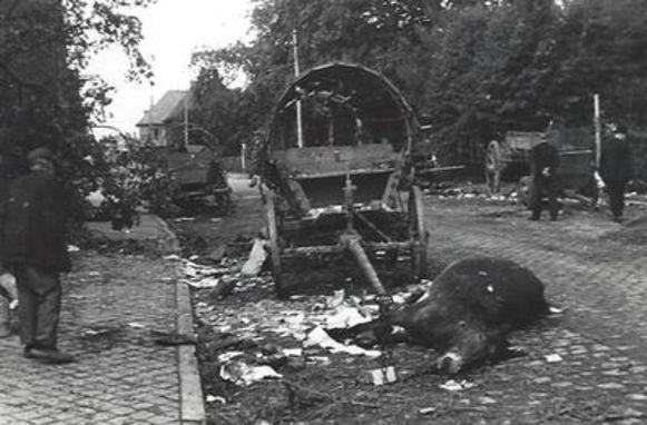 Ravage in de Kasteelstraat