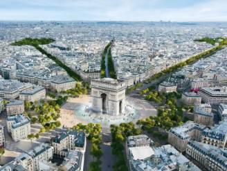 Parijs stemt in met transformatie van Champs-Elysées tot 'buitengewone tuin'