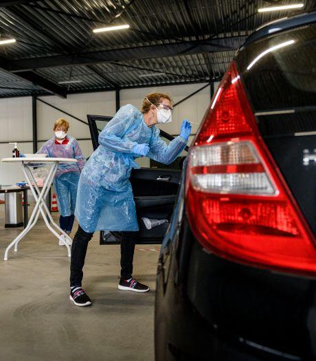 Teststraat in Holten maakt Twents netwerk compleet: iedereen binnen half uur bij teststraat