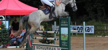 Wouter Hermelink derde op Jumping Geesteren