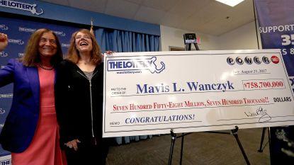 Recordjackpot van 868 miljoen dollar te winnen bij Amerikaanse loterij
