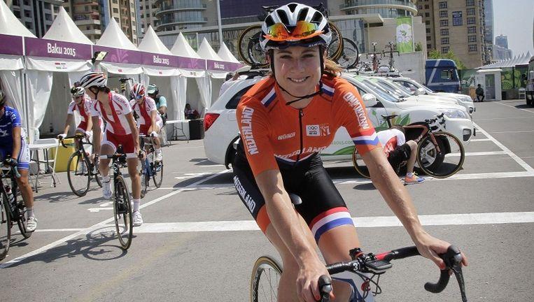 De Nederlandse Annemiek van Vleuten toonde zich vorig jaar de beste in de Lotto Belgium Tour.