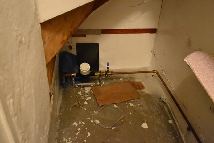 Wateroverlast in de kelder.
