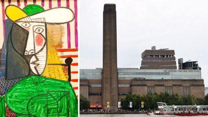 Man opgepakt nadat hij Picasso van 20 miljoen kapotscheurt in Tate Modern