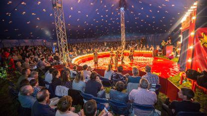Leerlingen Triangel ontpoppen zich tot echte circusartiesten