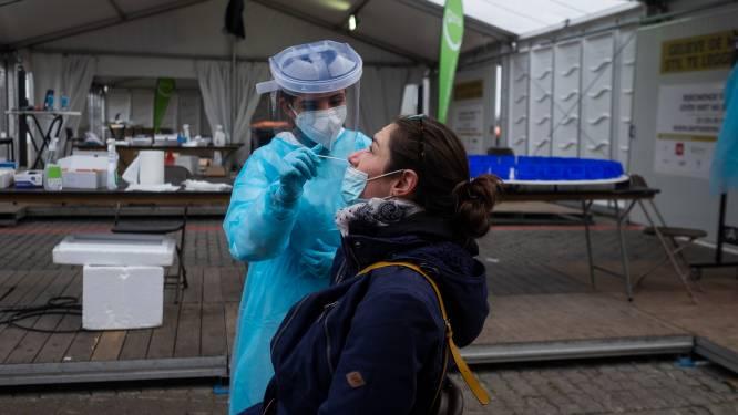 Op één na drukste dag ooit in testdorp Spoor Oost, maar het bleef relatief rustig: 1.000 mensen zijn zich laten komen testen