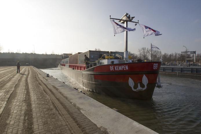 Budel Dorplein - in gebruikname van Containerhaven