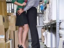 'Stonden we te zoenen op kantoor voor andere collega's binnenkwamen'