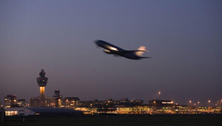 Archieffoto van een Boeing 737 die van Schiphol vertrekt. Foto ANP Beeld