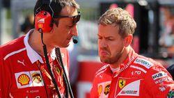 Gridstraf van tien plaatsen dreigt voor Vettel na toiletbezoek