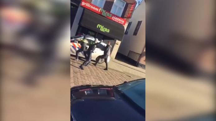 Agressieve man in Waalwijk.
