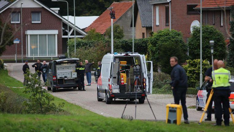 De politie doet onderzoek na de mislukte ontsnapping Beeld ANP