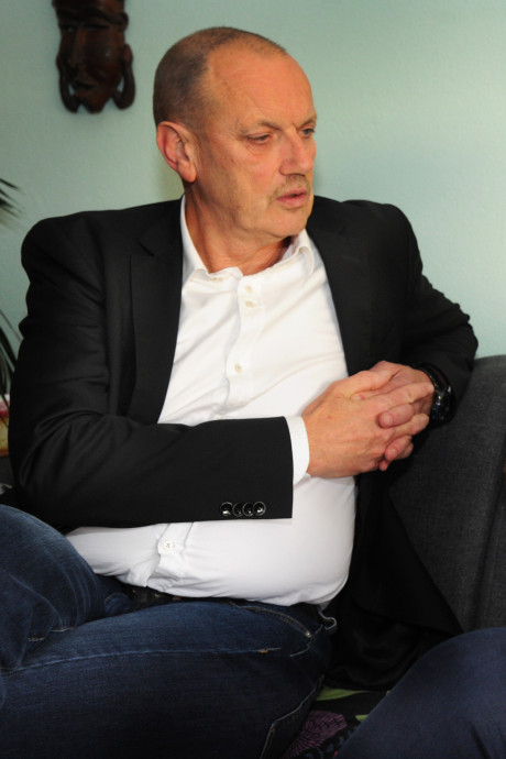 Doof op flatwoning driehoog in Dauwendaele met kind is niet ideaal