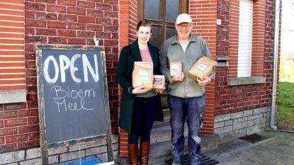 Graanmolen van 200 jaar oud maalt weer: bio bloem en meel te koop in Flietermolen