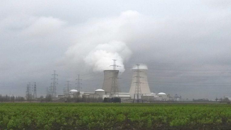 De kerncentrale van Doel in België. Beeld