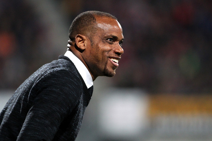 Fortuna Sittard-trainer Sunday Oliseh.