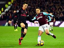 West Ham United tegen Arsenal dichtbij nieuwe zege