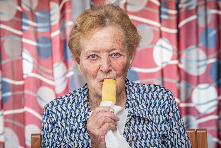 En ijsje smaakt altijd met dit weer.