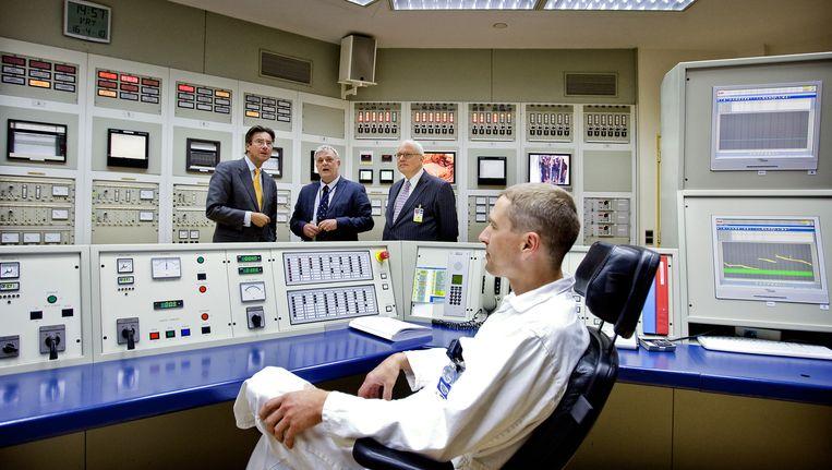De controlekamer van de kernreactor in Petten op archiefbeeld. Beeld anp