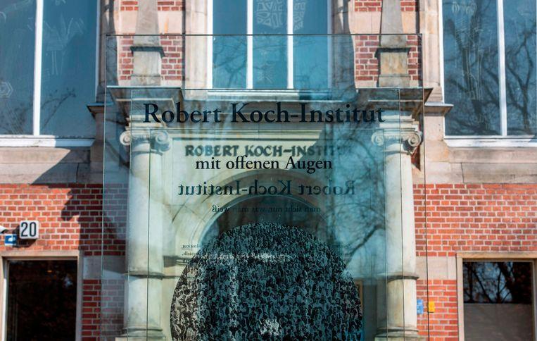 Het Robert Koch Instituut.