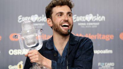 Duncan Laurence sloeg rol in Eurosong-film af