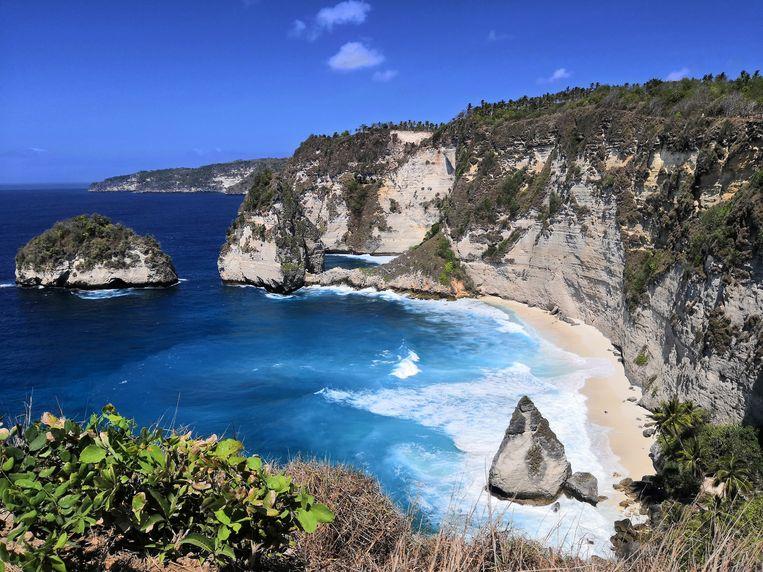 Uitzicht vlakbij Atuh Beach, Nusa Penida.