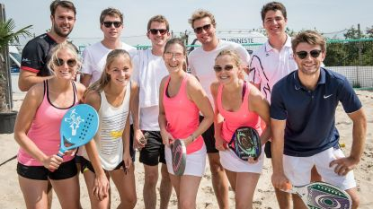Beachtennistornooi TC Staden is succes