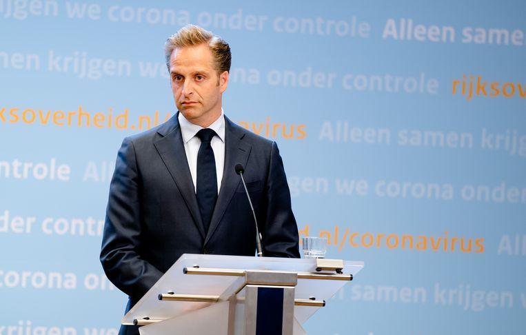 Minister Hugo de Jonge Beeld ANP
