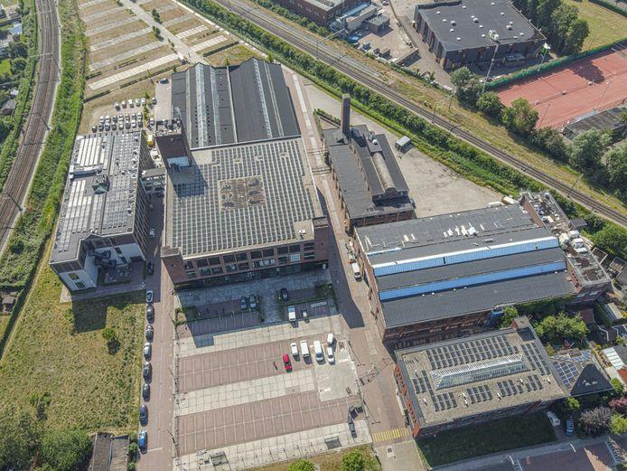 Luchtfoto van het Hazemeijer-complex, dat in andere handen komt.