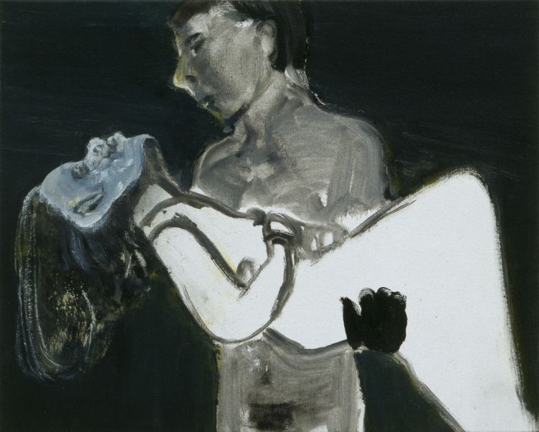 The Image as Burden, 1993 Beeld Marlene Dumas