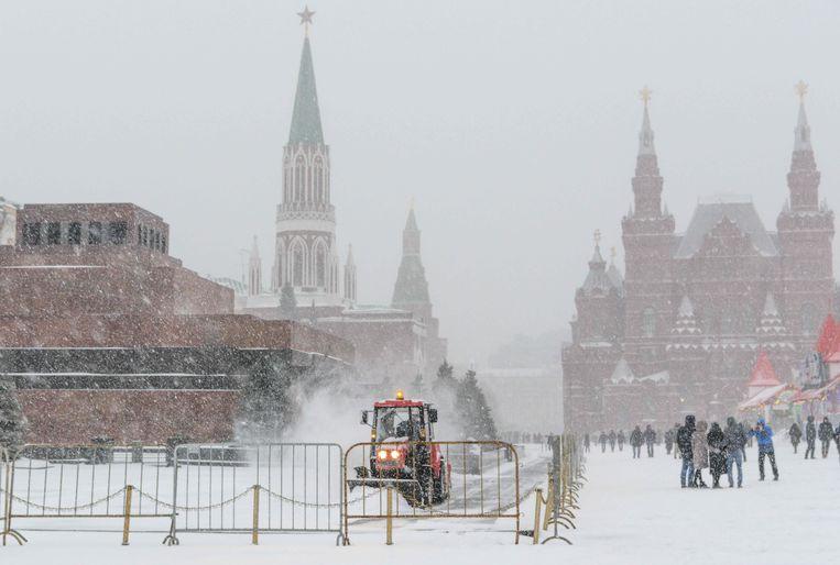 Het Rode Plein in Moskou.