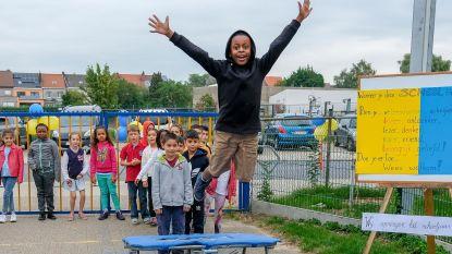 Leerlingen springen nieuw schooljaar in
