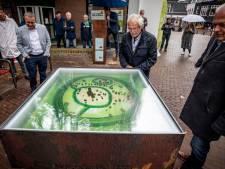 Maquette op Oldenzaalse Plechelmusplein als inspiratie voor de jeugd