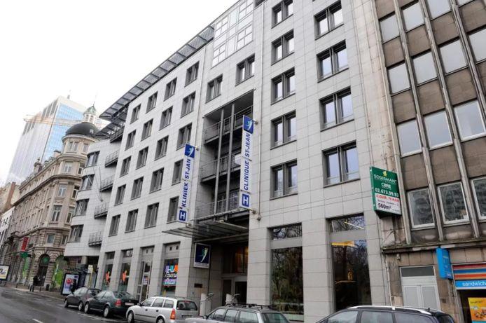 La clinique Saint-Jean à Bruxelles (archives).