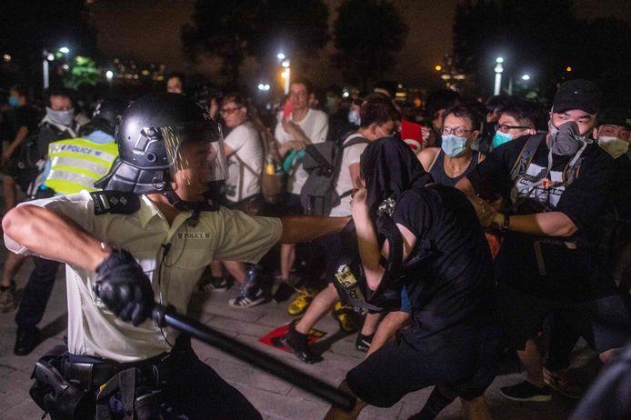 Vorig jaar mondden protesten tegen de regering uit in een geweldsspiraal
