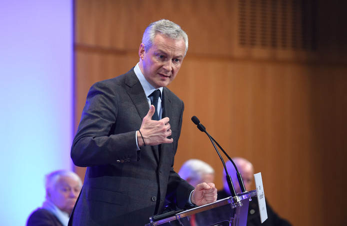 Minister Bruno Le Maire