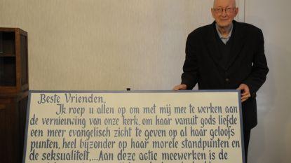Pastoor op rust Jan Berghmans start petitie tegen de paus op
