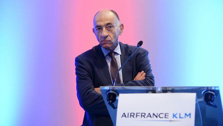 Jean-Marc Janaillac, topman van Air France-KLM Beeld anp