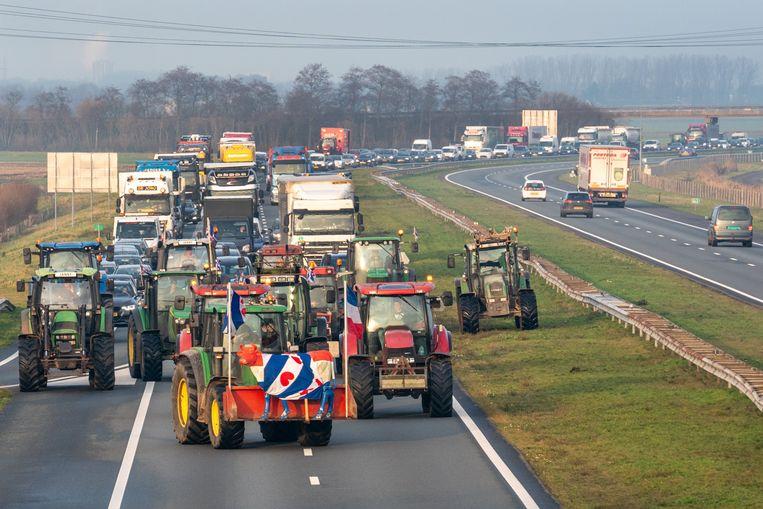 Nederland mag zich volgende week aan gelijkaardige wegblokkades verwachten.