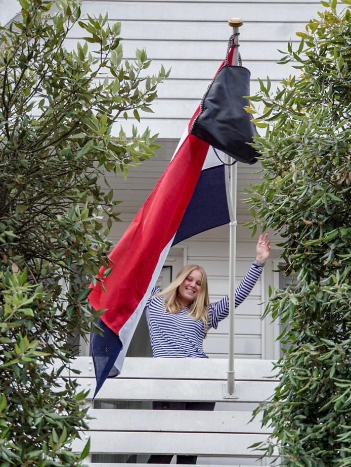 Tamara Tazelaar (16) uit Krimpen aan den IJssel.