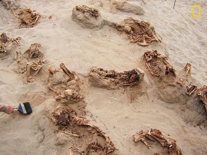 Het massagraf in Las Llamas