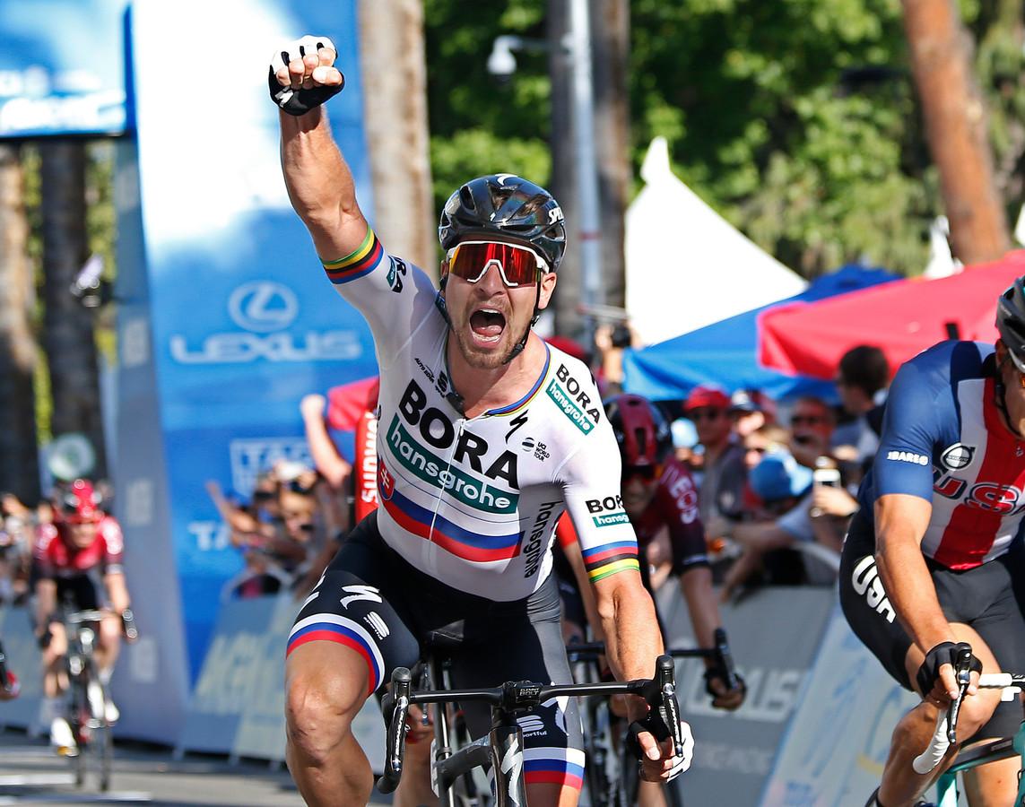 Peter Sagan mag na een minder voorjaar eindelijk weer juichen.