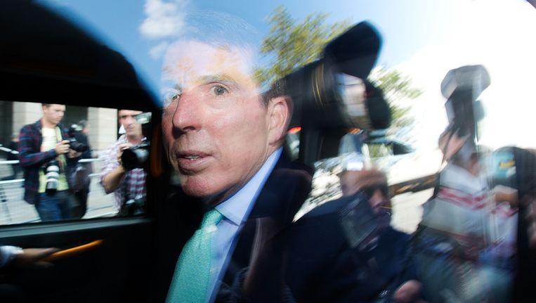De voormalige CEO van Barclays Bob Diamond. Beeld Getty Images