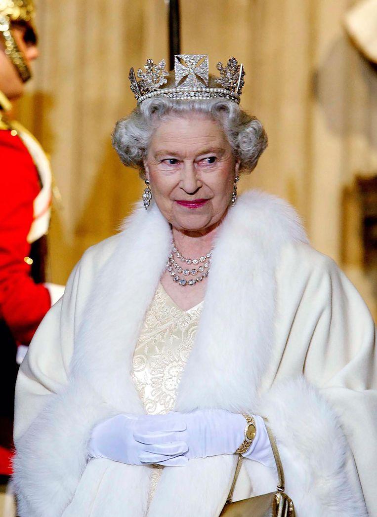 Queen Elizabeth sloeg Jagger niet zelf tot ridder Beeld Getty Images