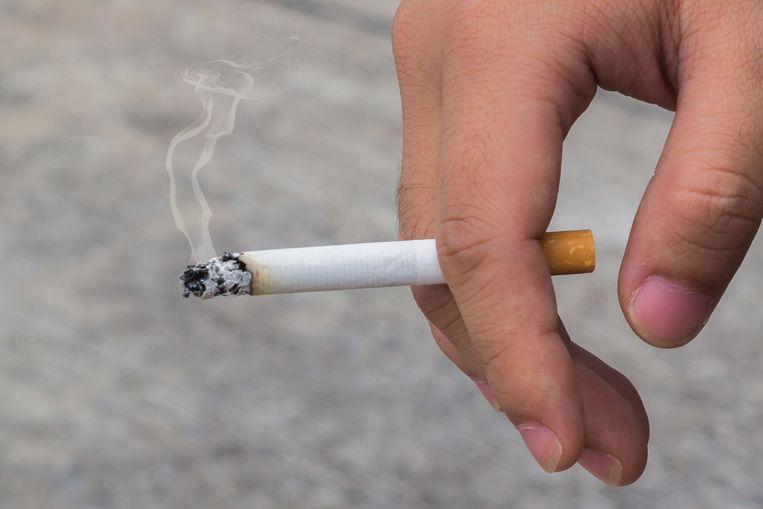 De rokerspoli is een pilot die drie maanden gaat duren. Beeld Shutterstock