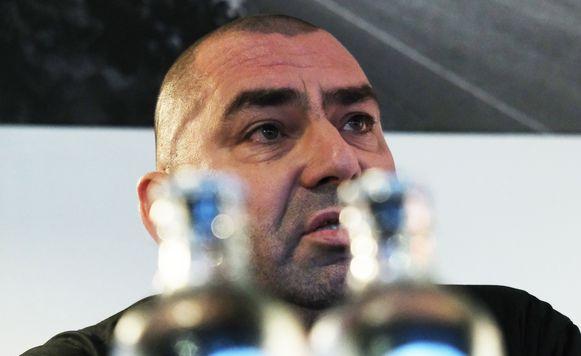 Geert Titeca, voorzitter van de supportersfederatie van Essevee.