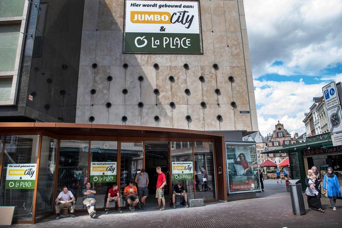 jumbo city met foodcafé en la place over twee weken open   nijmegen